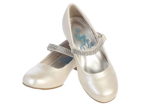 dress slippers ivory low heel dress shoe w rhinestone
