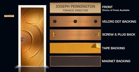 Front Door Name Plates Interesting Design Ideas Engraved Front Door Name Plates Plate Pepperpunch Info Architecture