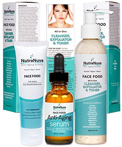 Softto Ds Package Sho Moisturizing Serum nutranuva food skin care stop the clock gift set anti aging anti