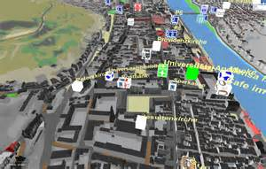 How To Make 3d Interactive Map Heidelberg 3d Interactive 3d City Mapping Based On Ogc