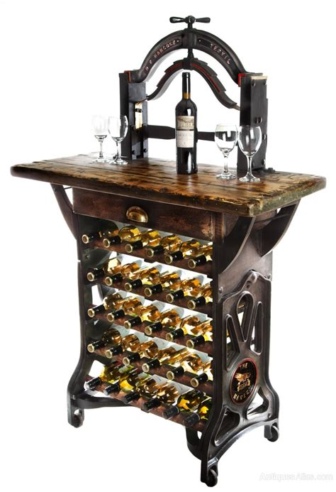 table wine racks wine storage racks for the table quot the henley quot victorian mangle wine rack table antiques