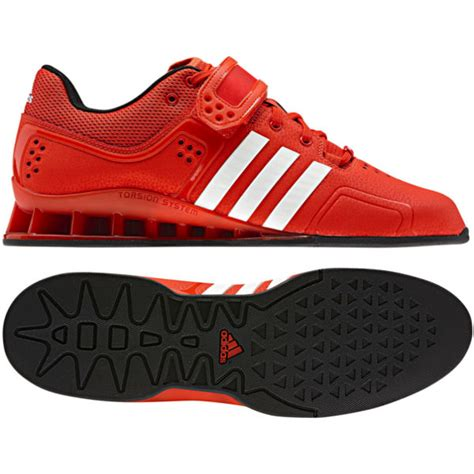 adidas adipower weightlifting shoes in white