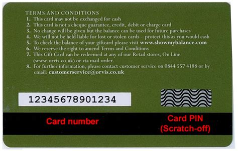 Gift Card With Pin - orvis answer centre gift cards