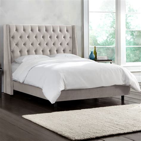upholstered king bedroom set bed frames upholstered bed frame and headboard king