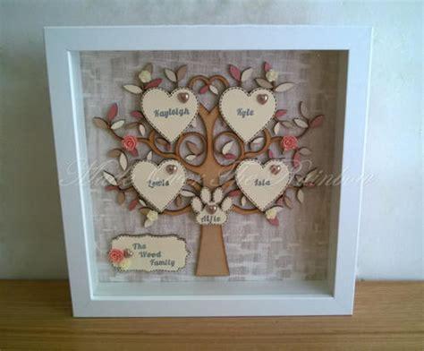 Handmade Family - wooden family tree handmade personalised family tree