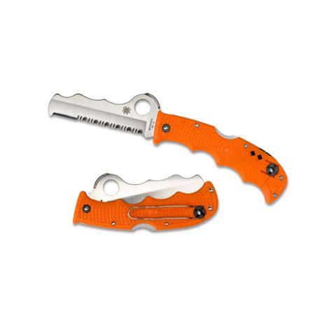 spyderco assist orange black knivgrossisten se