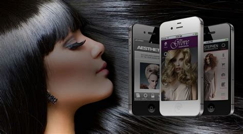 hair and makeup app factorestudio graphic design email marketing and