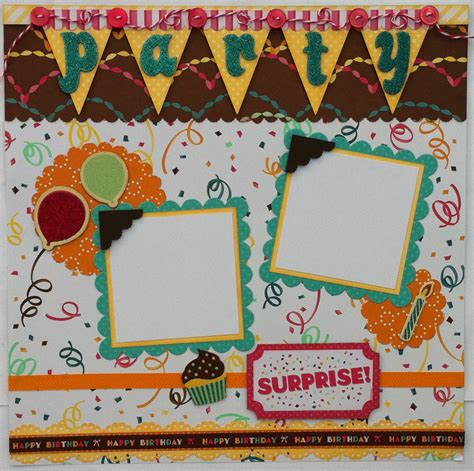 scrapbook layout for many pictures party scrapbook page layout my sisters scrapper