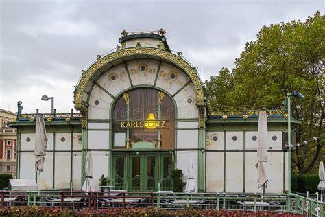 pavillon wien der nouveau pavillon wien stockbild bild