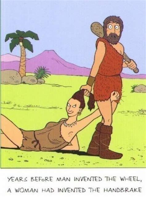 funny cartoons caveman wheel saved by a book books weekend jokes