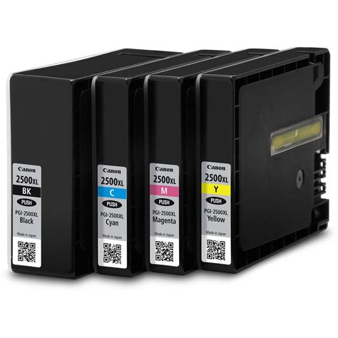 Canon Toner Ep329 Magenta Berkualitas canon ink cartridge pgi 2500xl black cyan magenta yellow pack of 4 cartridges pack of 4