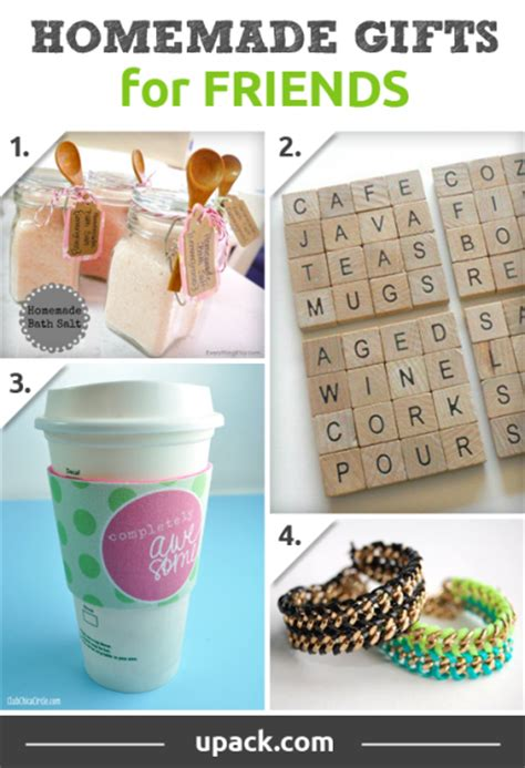 easy handmade gifts for friends www imgkid the