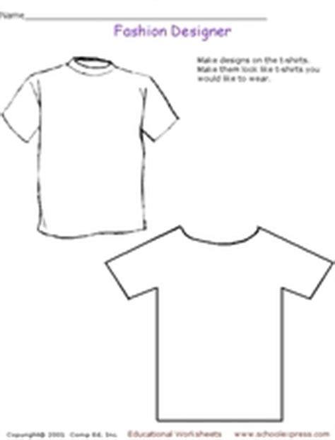 fashion design worksheets fashion designer 2nd 3rd grade worksheet lesson planet