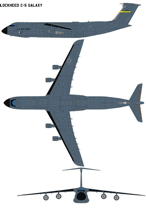lockheed c 5 galaxy by bagera3005 on deviantart