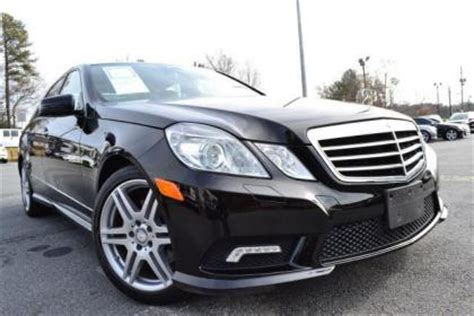 export used 2010 mercedes benz e350 4matic black on black