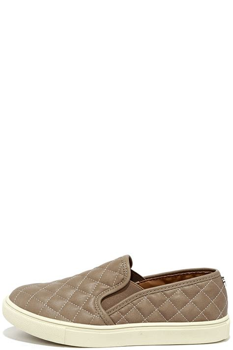 Steve Madden Quilted Slip On Sneakers by Steve Madden Ecentrcq Grey Quilted Sneakers Slip On