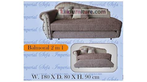 Plushtop Rosewood Set 120x200cm Uniland Springbed sofabed 2in1 balmoral model terbaru