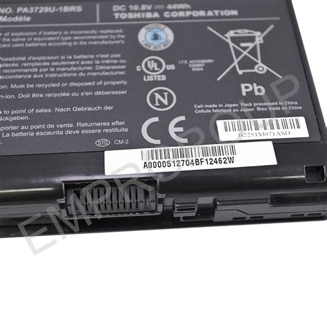 Ac 1 2 Pk Merk Sanyo toshiba part a000051820 battery pack 6cell sanyo empr 174 australia