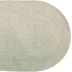 solid braided area rugs indoor outdoor oval rectangle ebay