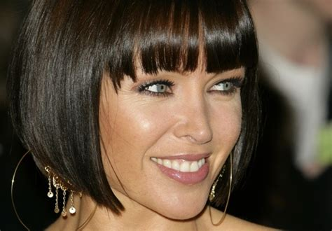 dannii minogue bob hairstyle danni minogue zimbio