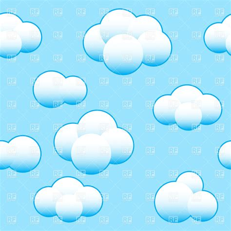 Clipart Bedroom cloud background clipart