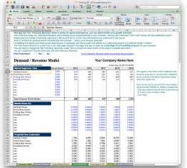 business plan projection template business plan financial model template bizplanbuilder 10 year business plan financial budget projection model in