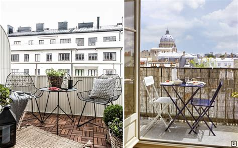 6 tips for optimizing a small balcony   BnbStaging le blog