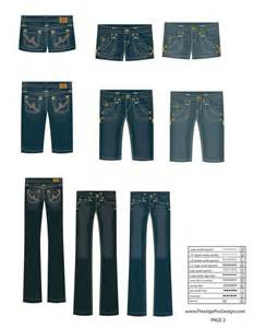 pattern illustrator jeans illustrator fashion templates free jeans share etsy pins
