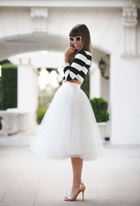 Dress Setelan Top Brokat Rok Organza the tulle skirt it doesn t get more feminine than that just the design