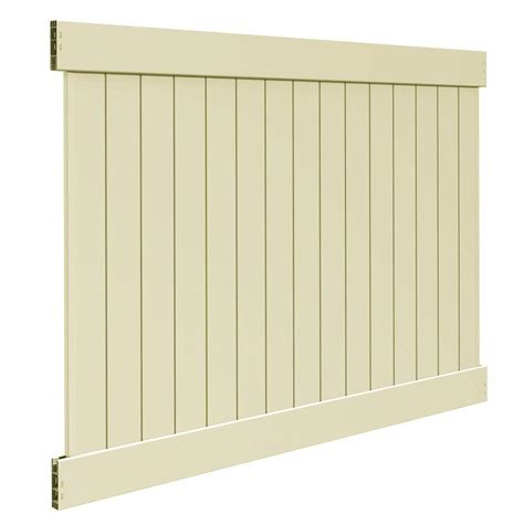 Home Depot Wood Fence Panels by Vinyl Fence Panels Vinyl Fencing Fencing The Home Depot