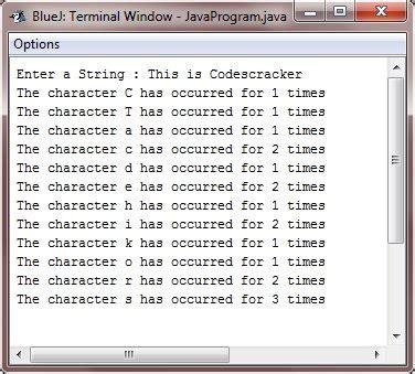 Character Letter Java print alphabet letters in java docoments ojazlink
