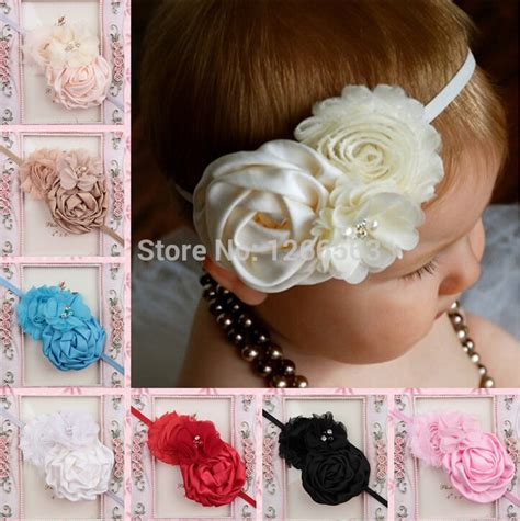 high quality affordable headbands for babies by high quality infant toddler baby headbands satin ruffled