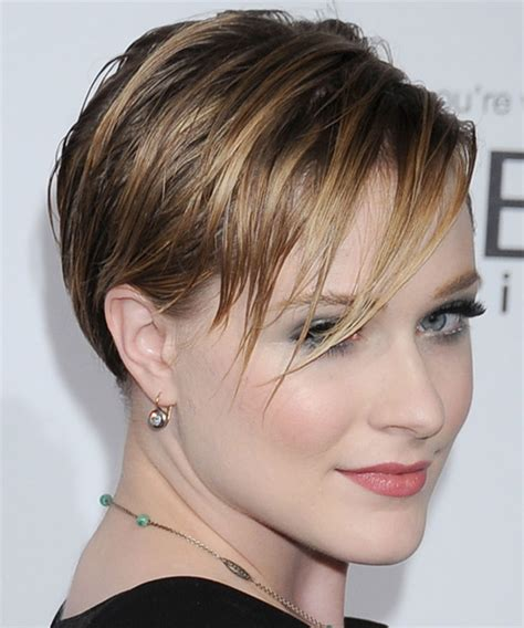 rachel thinning hair the gallery for gt evan rachel wood short hair back view
