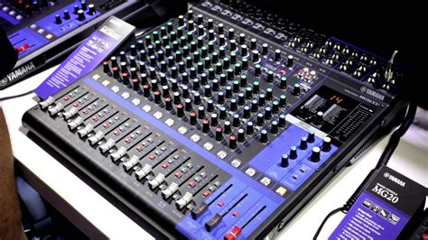 Mixer Yamaha Mg Series yamaha mg series digital mixers namm 2014