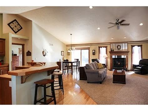 4 Bedroom Open Floor Plan by Manitowoc Homes For Sale Open Concept Ranch Open House