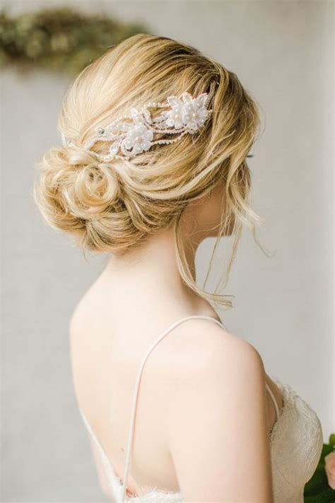 Wedding Hairstyles With Jewels by Wedding Hair With Flowers Jewels Prettiest Wedding