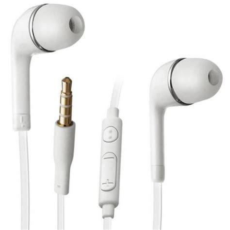ecouteurs casque blanc original samsung volume ecouteur oreillette d origine pour galaxy s5