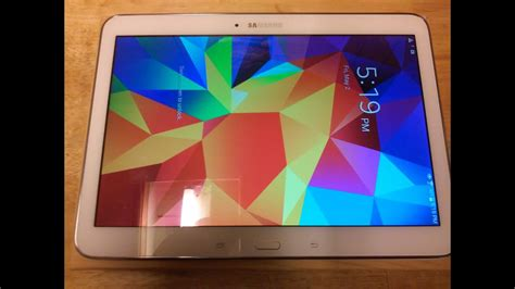 samsung galaxy tab 4 10 1 unboxing review