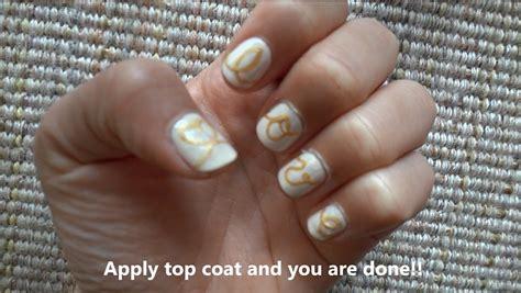 tutorial nail art sting love string nail art design nail art gallery step by