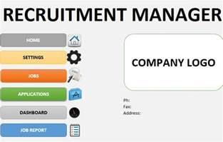 Recruitment Tracker Template by Recruitment Tracker Template Excel By Template124
