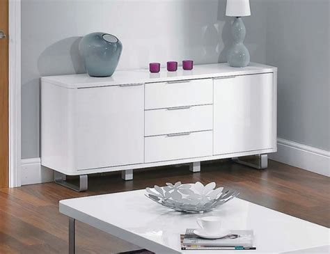 sideboards astounding cheap white high gloss sideboard