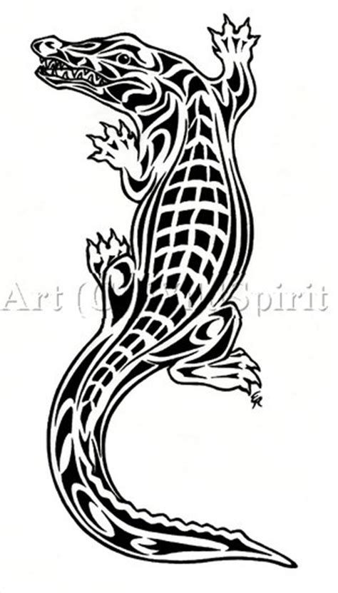 tribal crocodile tattoo designs 35 awesome alligator designs