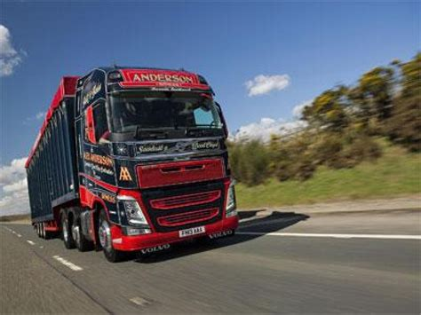 new volvo commercial alex anderson s new volvo fh on the road commercial motor