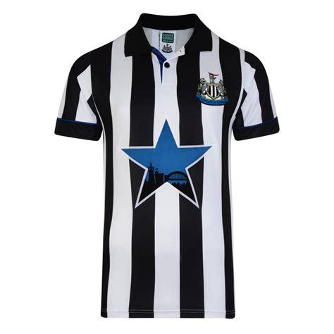 Kaos Newcastle United T Jersey newcastle united fc 1994 shirt newcastle fc retro jersey