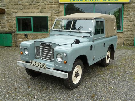 1972 Tax Exempt Series 3 Arrives Land Rover Centre