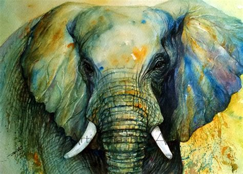 painting elephant arti s as i see it july 2013