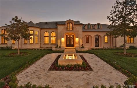 Mediterranean Style Mansions 14 295 Million Newly Built French Inspired Mansion In
