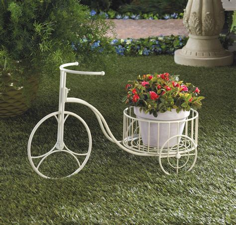 Tricycle Planter by White Tricycle Planter Wholesale At Koehler Home Decor