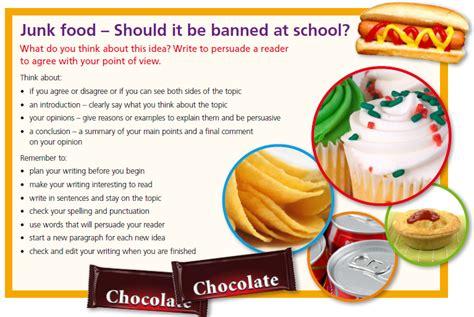 Junk Food In Schools Argumentative Essay by Junk Food In School Canteens Essay