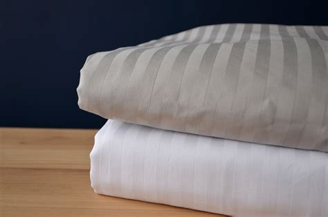 egyptian cotton bedding sateen stripe egyptian cotton bedding natural bed co